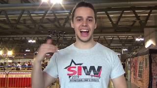 Cartoomics 2019 - wrestling italiano, intervista a Dylan Rose