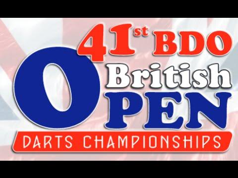 2015 British Open and Winmau British Classic, Day 2