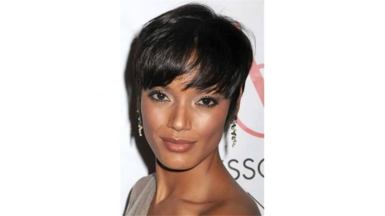 short hairstyles for black women with thin hair.mp4 - youtube
