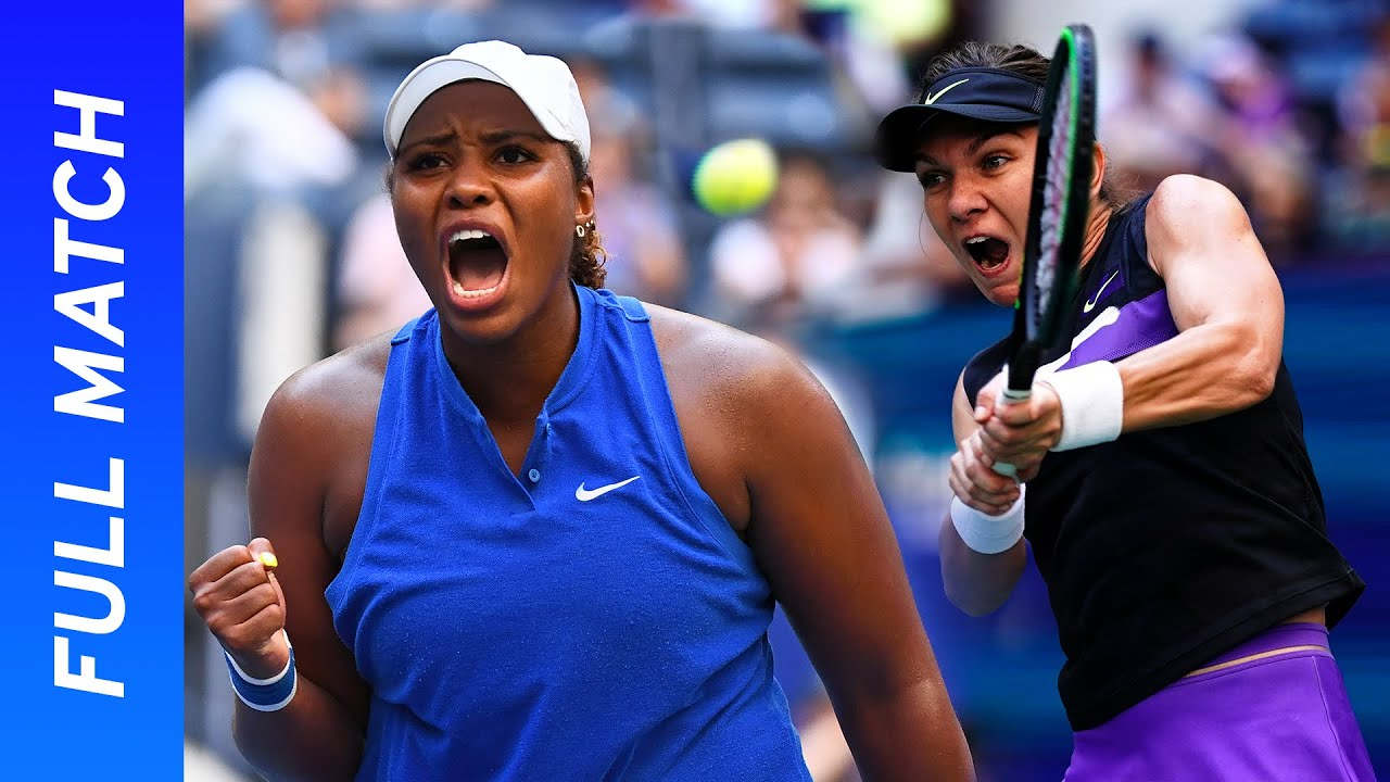 Simona Halep vs Taylor Townsend Full Match | US Open 2019 R2