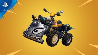 Fortnite - New Vehicle: Quadcrasher | PS4
