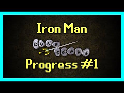 Iron Man Progress Video #1(Kadian) - Getting Started Mid Game.. Lol  