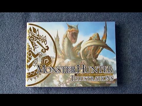Monster Hunter Illustrations [Book Review]