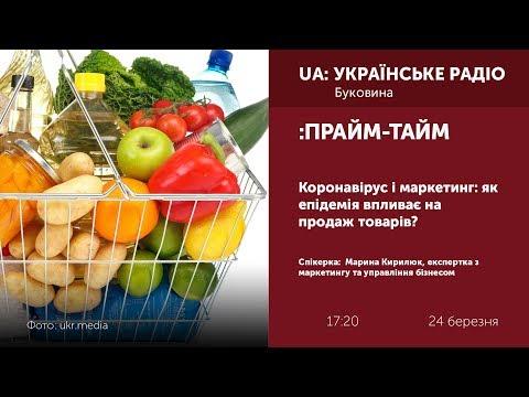 Суспільне Буковина: ПРАЙМ-ТАЙМ: Коронавірус і маркетинг: як епідемія впливає на продаж товарів?