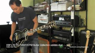 esp ltd ec 1000t ctm guitar collection update chat