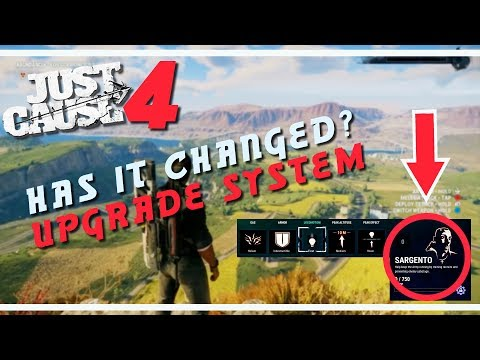 NEW Upgrade Progression Revealed | Just Cause 4 | #Justcause4 #JC4 |
