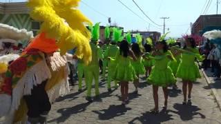 Carnaval 2017 Tenancingo Tlaxcala sección 1ra día martes