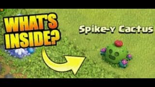 Clash Of Clans | Removing Spike-Y Cactus #2