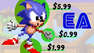 Sonic Hack - Sonic 1 Published By EA