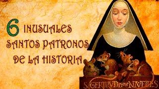 6 Inusuales santos patronos de la historia