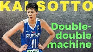 Kai Sotto is Legit! Gilas Double Double machine vs  Croatia