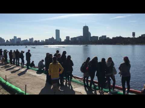 Beanpot / Muri Cup finish, Boston University, Harvard and M.I.T. 4-15-17