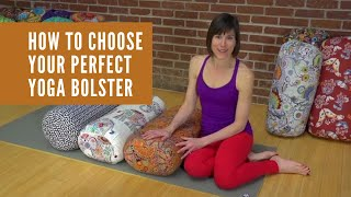 Yoga Props: How to Choose Your Perfect Bolster