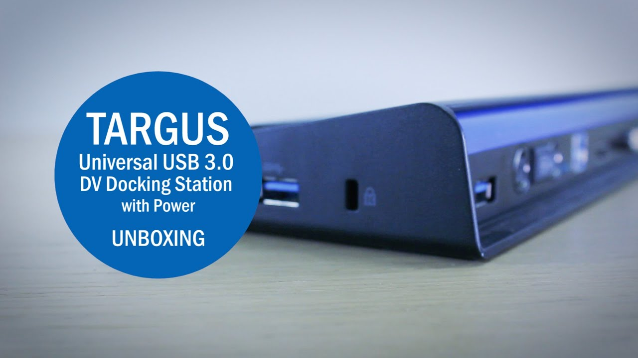 targus usb 3.0 docking station drivers