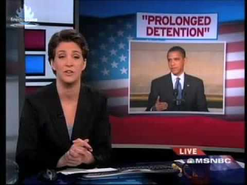 Obamas Preventative/Prolonged Detention Plan