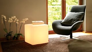 Led Cubo Luminoso Sl-llc40-01,led Chair,led Stool, Led Box,led Seat,cubo Luminoso