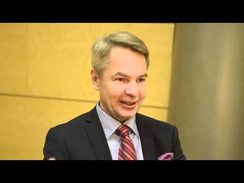 Haavisto Homman haastattelussa, osa 1/4 (2012 presidentinvaalit)