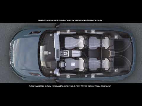 New 2020 Range Rover Evoque   Meridian™ Sound System