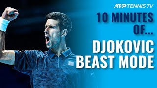 10 MINUTES OF: Novak Djokovic 'Beast Mode' Tennis 🤯