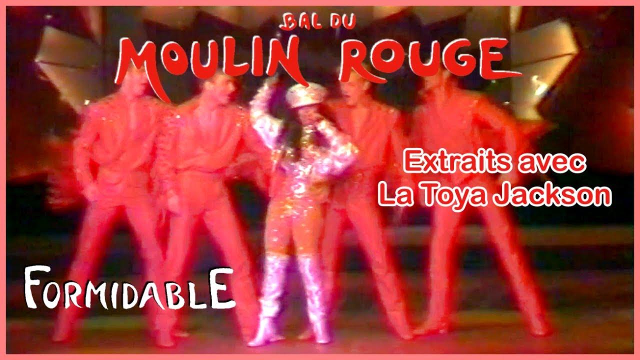 """Download Extraits de la revue """"Formidable"""" du cabaret le Moulin Rouge de Paris avec La Toya Jackson en 1992"""