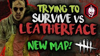 SURVIVING LEATHERFACE! [Trying to] Dead by Daylight with HybridPanda