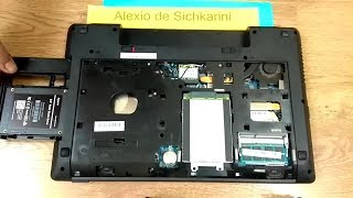 Новий SSD диск замість DVD-RW приводу. Video