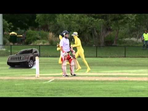 National Jockeys Trust Twenty20 Cricket match crashed by The Valley!