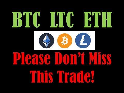 BIG TRADE SETUP – PROFIT ON THE WAY! Bitcoin Litecoin Ethereum Technical Analysis 8/22/19