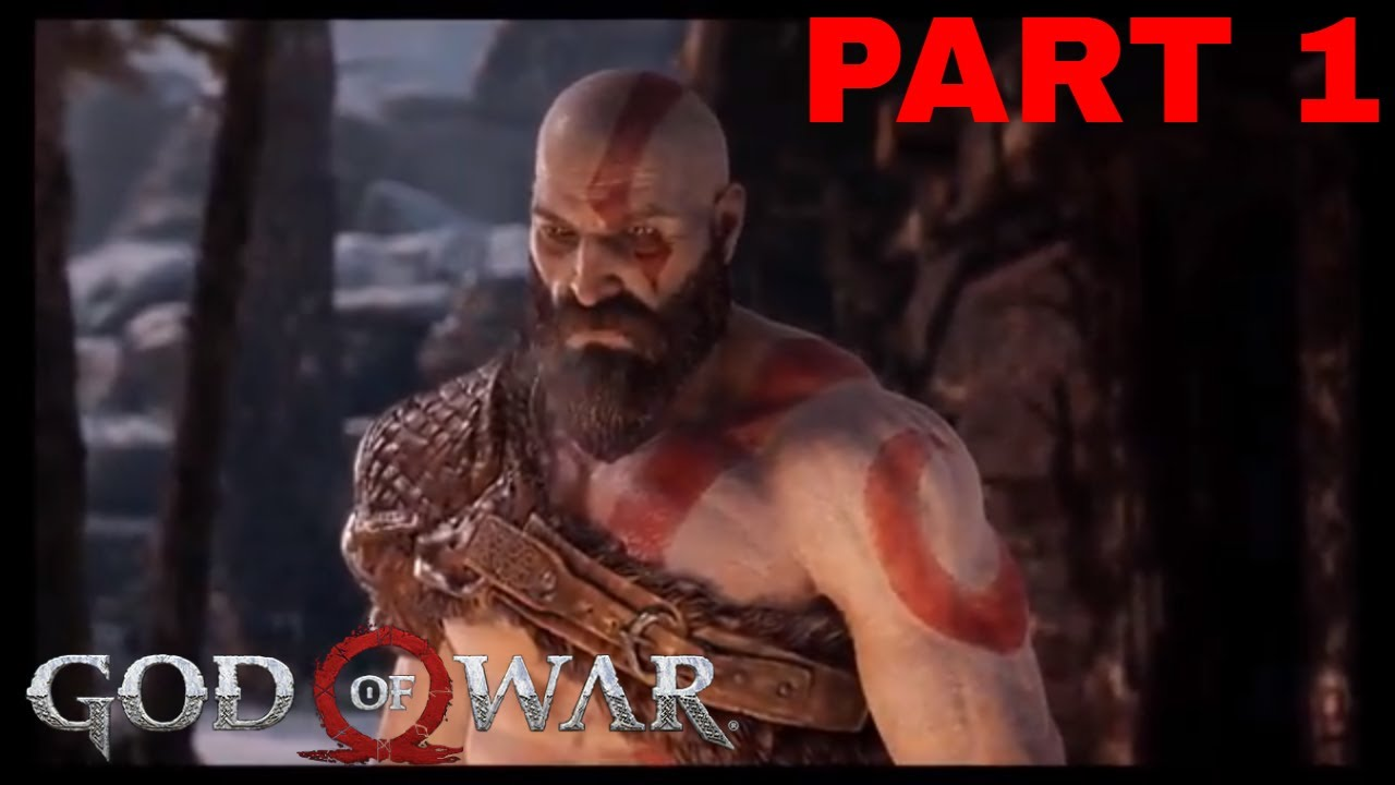 God Of War Gameplay Part 1 Ps4 It S Going Doowwwwn
