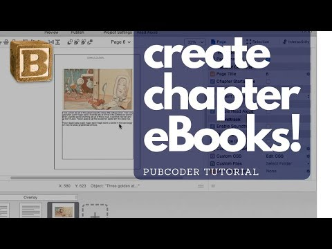 Creating Chapter Books & Picture Books for iPad & Kindle