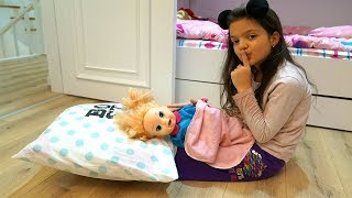Masal ve Baby Alive Gece Rutini! BABY ALIVE Night Time Routine Funny Kids video