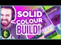 Sims 4 Solid Colour Challenge   ONLY ONE COLOUR BUILD!!