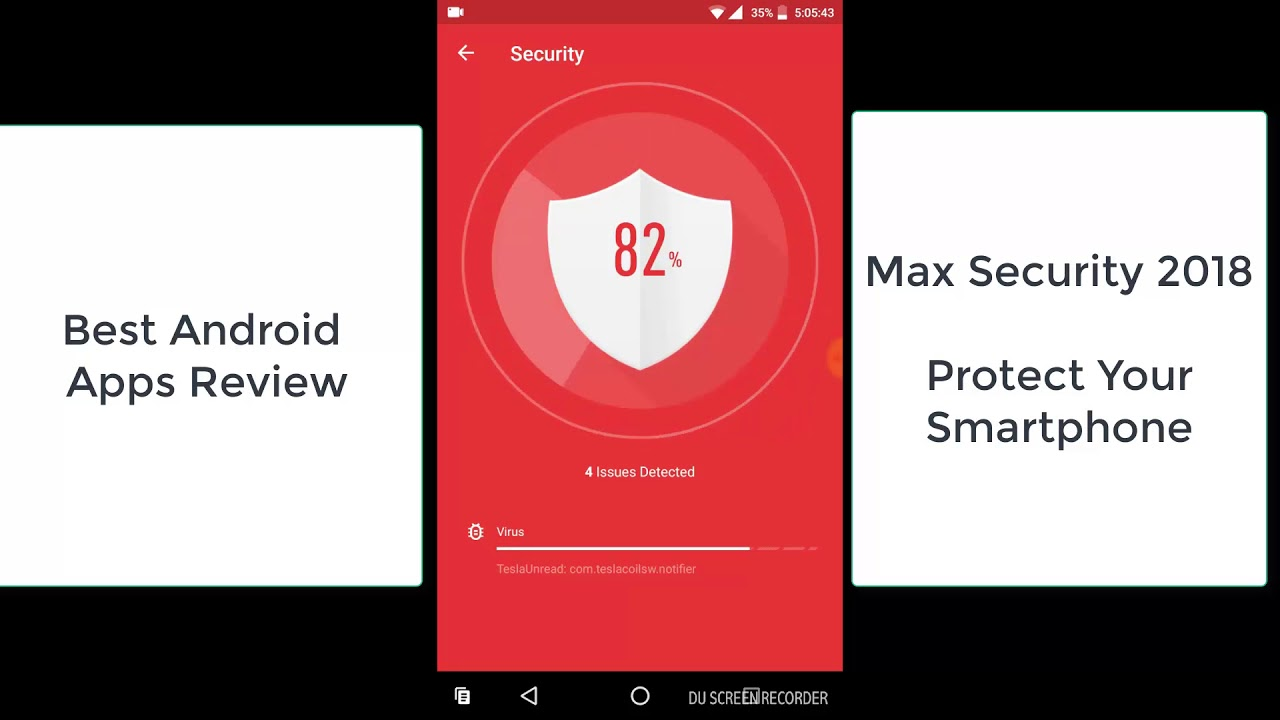 Max Security 2018, Protect Your Smartphone From Virus