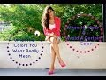 What the Colors in Your Outfit REALLY Mean | Jalisa's Fashion Files