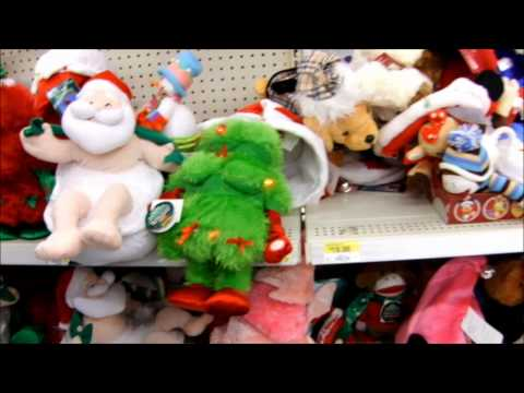 Dancing Stuffed Animals in walmart!
