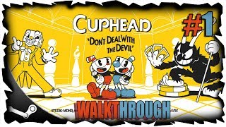 CUPHEAD JUEGO COMPLETO WALKTHROUGH EN ESPAÑOL CON COMENTARIOS PARTE 1 PC