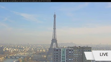 🔴  LIVE CAM EIFFEL TOWER