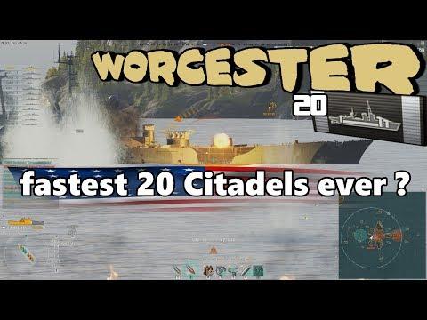20 Citadel Worcester 322K DMG || World of Warships