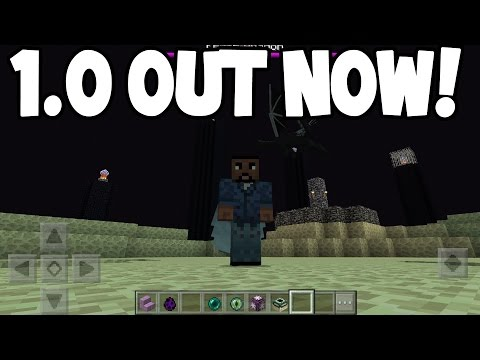 Minecraft Pocket Edition - 1.0 ENDER UPDATE! - OUT NOW!! (IOS/Android)