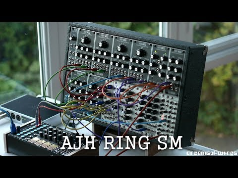 AJH Synth Ring SM Demo (sub bass/octave/ring mod/mixer) for Eurorack Modular