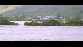 Grey River In Flood