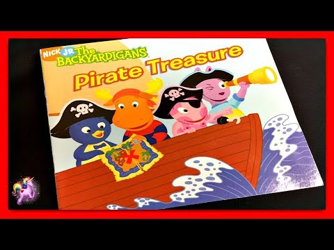 "THE BACKYARDIGANS ""PIRATE TREASURE"" - Read Aloud - Storybook for kids, children & adults"