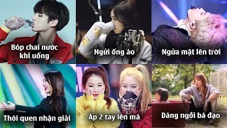 Những Idol Kpop có thói quen cực độc, lạ và đáng yêu