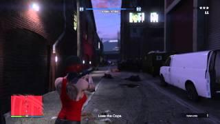 GTA5 Online PS4 - Crime Scenester (Solo)