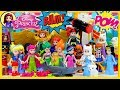 Disney Princess Dress up Lego DC Super Hero Costumes High School Silly Play Kids Toys