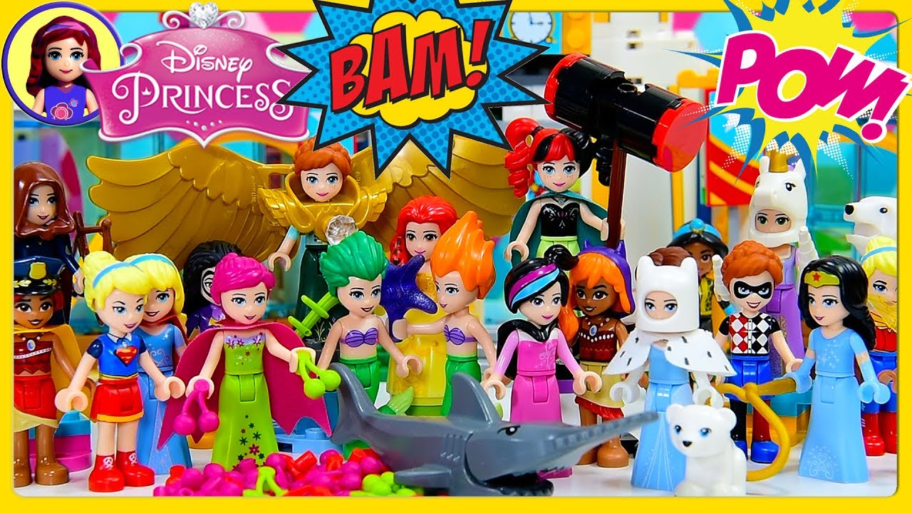 disney princess dress up lego dc super hero costumes high