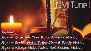 Jiya Re Dahleez   Jubin Nautiyal Lyrical Full Video Song   Star Plus