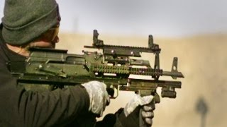 Repeat youtube video World's first Bull Pup Bump Fire Prototype -
