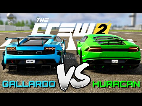 Lamborghini Huracan VS Gallardo Superleggera - The Crew 2