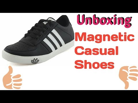 Unboxing Magnetic Casual Shoes,party Wearing, Fashionable Shoes  2018 By Technical Sanjoy